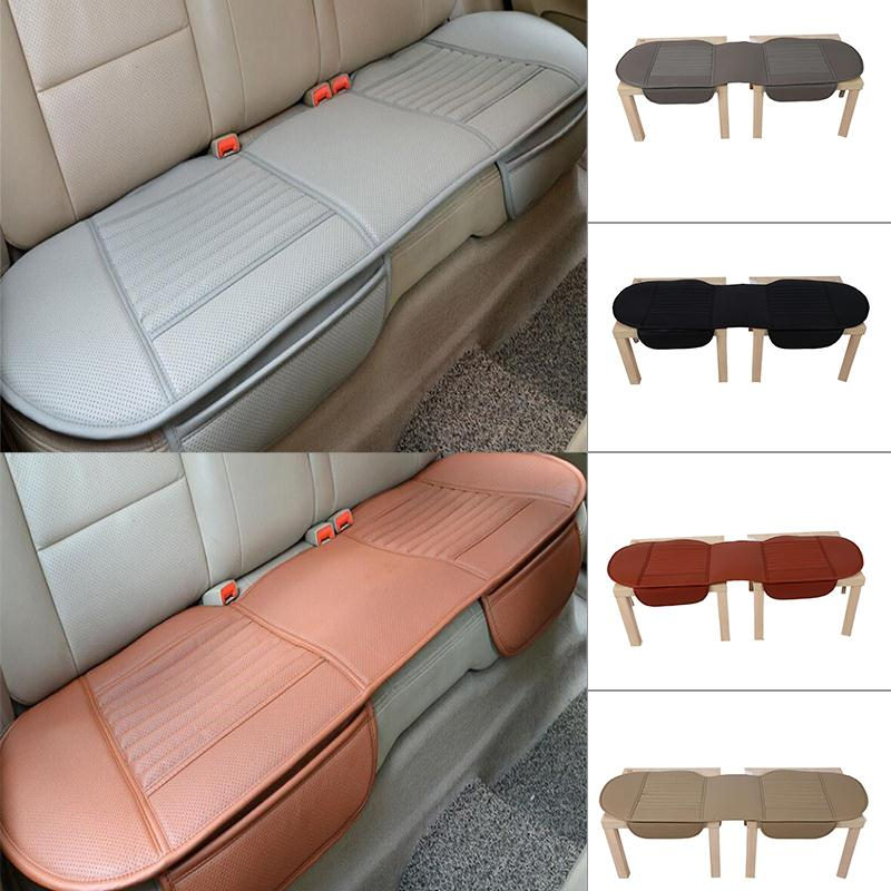 Vehemo Leather Car Seat Cover Interior Cushion Pad Long Rear Universal For Ford Focus 2 3 Fiesta Mondeo Kuga Citroen C4 C5 C3