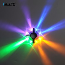 Cycling Lights Waterproof MTB Road Bike Front Rear Spoke Wheel Decoration Lamp New Design Safety Warning Bicycle Hubs Light