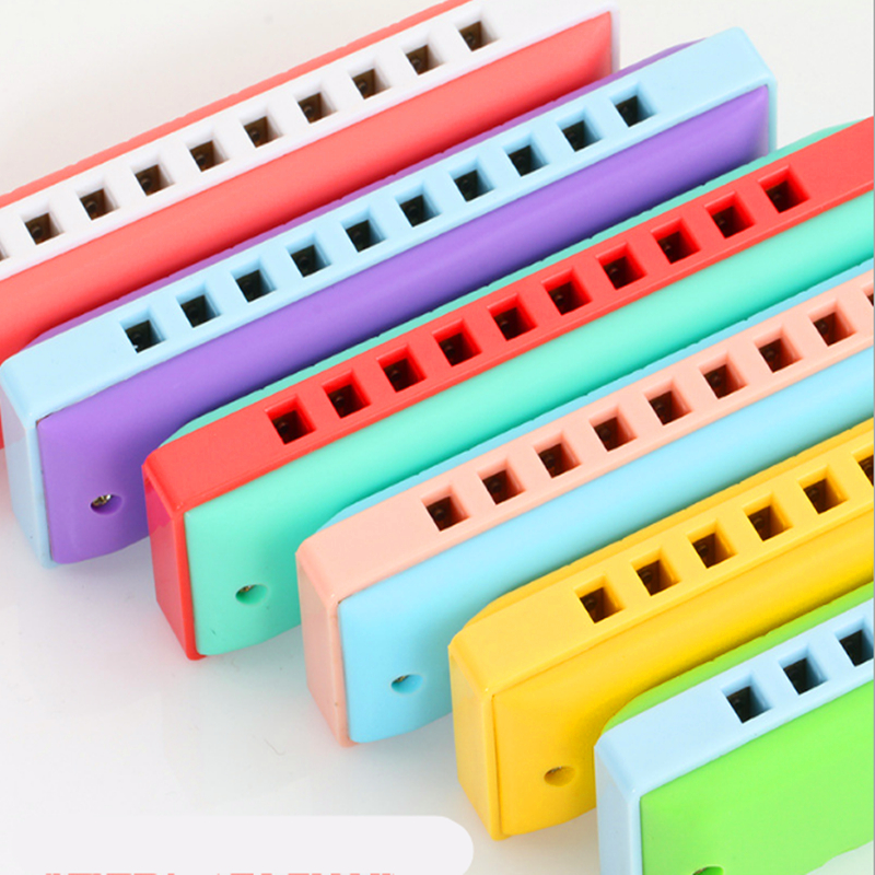 Kongsheng 10 Hole Harmonica Childrens Toy Armonica Blues gaita de boca Mouth Ogan Educat ...