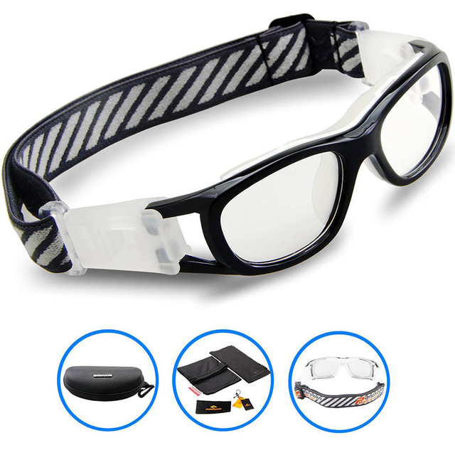 097ee5c71e3 2017 Protective Child Brand Sports Eyewear Goggles KIDS Basketball Football  Soccer Dribbling Glasses Tag Eyeglasses Myopia lens