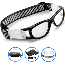 2017 Protective Child Brand Sports Eyewear Goggles KIDS Basketball Football Soccer Dribbling Glasses Tag Eyeglasses Myopia lens