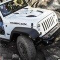 "2 pcs motor de esporte capa Fender Side "" Rubicon "" caráter adesivo decalque de vinil para Jeep Wrangler Unlimited TJ JK frete grátis"