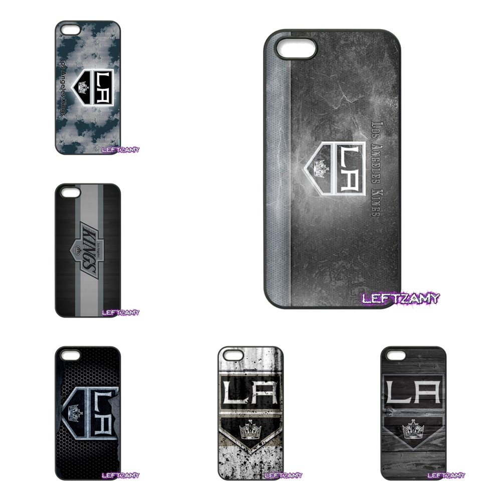 la kings Ice Hockey Logo Hard Phone Case Cover For iPhone 4 4S 5 5C SE 6 6S 7 8 Plus X 4.7 5.5 iPod Touch 4 5 6