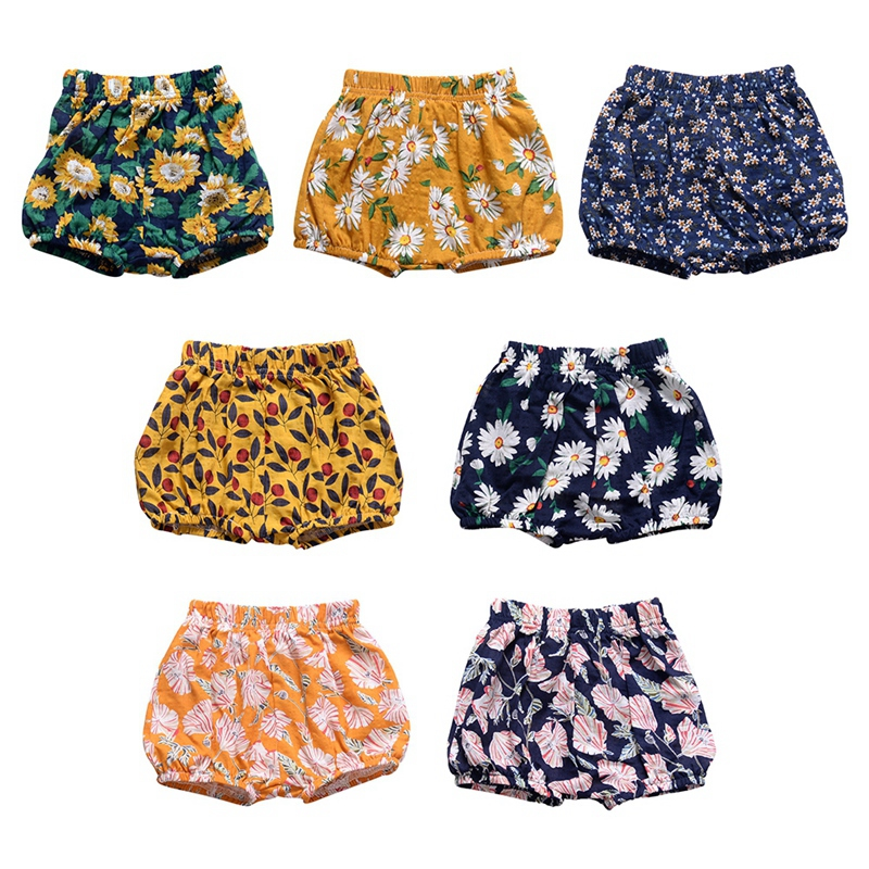 0-2Y Infant Big PP   Shorts   Newborn Girl Bread Pants Baby Girl Cotton Bedding Bloomers Baby Clothing Summer Bottoms