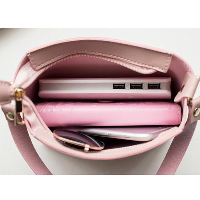 2018 Fashion For Women Solid zipper Shoulder Bag Crossbody Bag Messenger Phone Coin Bag Small korean Style Bolsas Feminina Saco