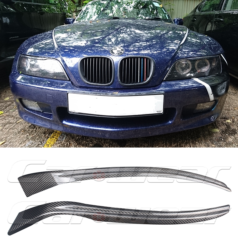 Bmw Z3 Car Cover: ᑐZ3 Carbon Fiber Car Headlight ⊰ Eyebrows Eyebrows Eyelid