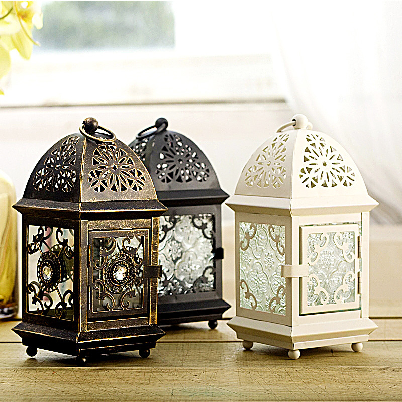 Square Metal European Wall Hanging Votive Modern Cheap ... on Metal Candle Holders For Wall id=23166