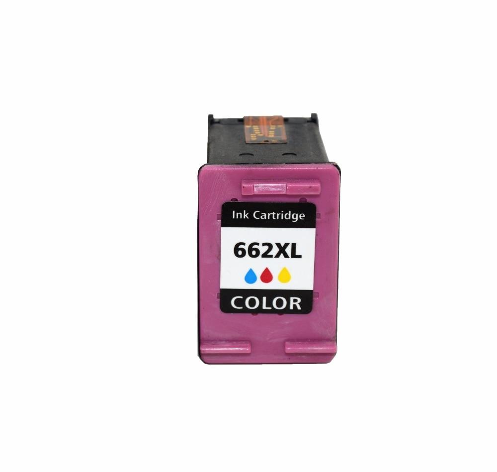 Comoatuble Ink Cartridge for HP 662 XL Color ink cartridge For Deskjet 1015/1515/2515/2545/2645/3545