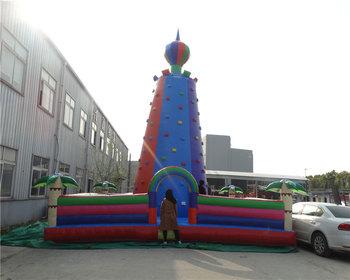 Konfigurowalny dzieci nadmuchiwana ściana wspinaczkowa nadmuchiwane ściana wspinaczkowa tanie i dobre opinie XZ-CW-060 Dziecko Customizable children inflatable climbing wall inflatable rock climb 0 5mmPVC 110-220v Large Outdoor Inflatable Recreation