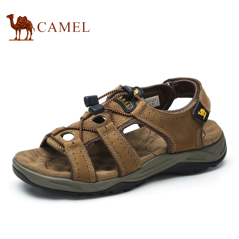 Camel men's shoes 2017 spring and summer outdoor sports fashion leisure leather sandals A622307247 aamir sarwar and sherwan asif camel ratings application
