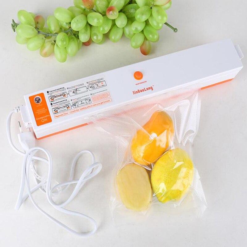 XinBaoLong QH-01 electrodomésticos sellado automático sellador de vacío 110 220 V cocina fruta embalaje máquina casera XJ