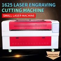 HYCNC 1625 маленькая лазерная резка гравировальная машина кожаные коврики автоматическая маркировка двухцветная панель режущий плоттер