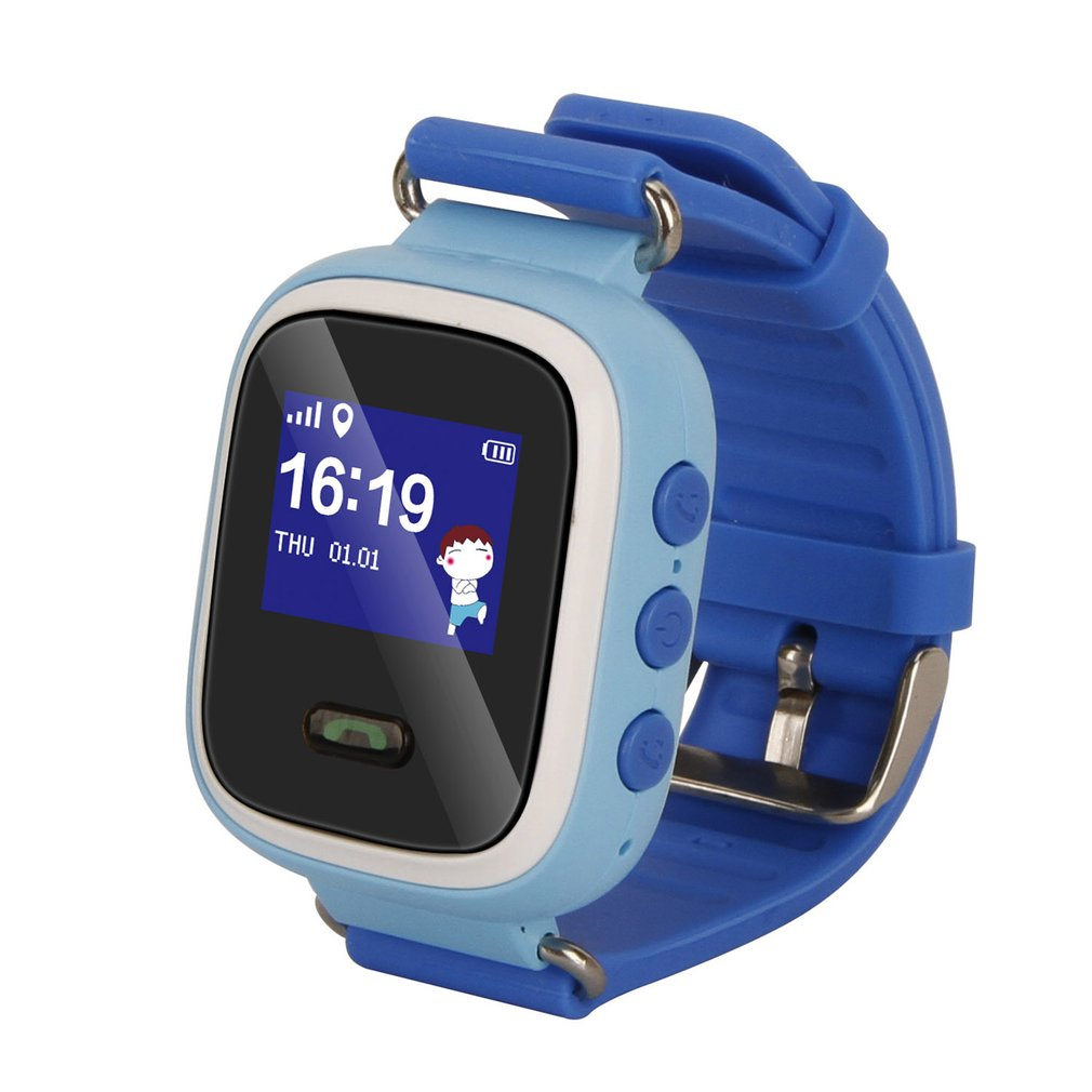 Digital Watches Child Cute Smartwatch Safe-keeper Sos Call Anti-lost Monitor Real Time Tracker For Children Base Station Location App Control Buy One Give One Men's Watches