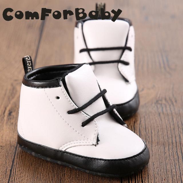 Mocasines de cuero del bebé Zapatos de Bebé Marca Martin botas de Zapatos de Niño Suave Del Bebé inferior Zapatos de 0 A 1 Años de Edad Masculino Femenino YEW329 LL