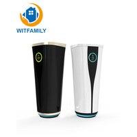 Изоляция High tech Bluetooth для напоминания воды многофункциональная музыка дисплей Температура Беспроводная зарядка бутылка для воды