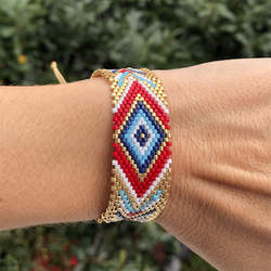 Go2boho MIYUKI pulsera mal de ojo Pulseras para Mujeres Hombres Mujeres Mujer Moda 2019 Nueva joyería Insta Moda hecho a mano Beadweaving