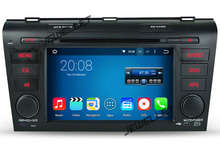 Quad core 1024*600 HD screen Android 7.1 Car DVD GPS radio Navigation for Mazda 3 2004-2009 with 4G/Wifi DVR OBD 1080P