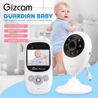 Gizcam 2 4 Inch Wireless Infant Babysitter Digital Video Camera Baby Sleeping Monitor Night Vision Two