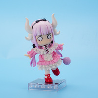 Alice connor 12cm in Wonderland Alice Nendoroid Action kobayashi Figure Real Clothes Ver. Alice Doll PVC kanna kamui Toy