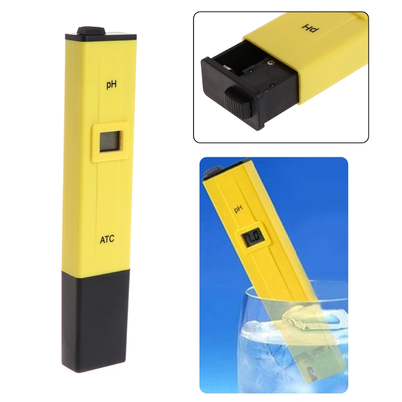 Digital PH Meter Water Quality Tester For Drinking Water Swimming Pool Aquarium Hydroponic L15