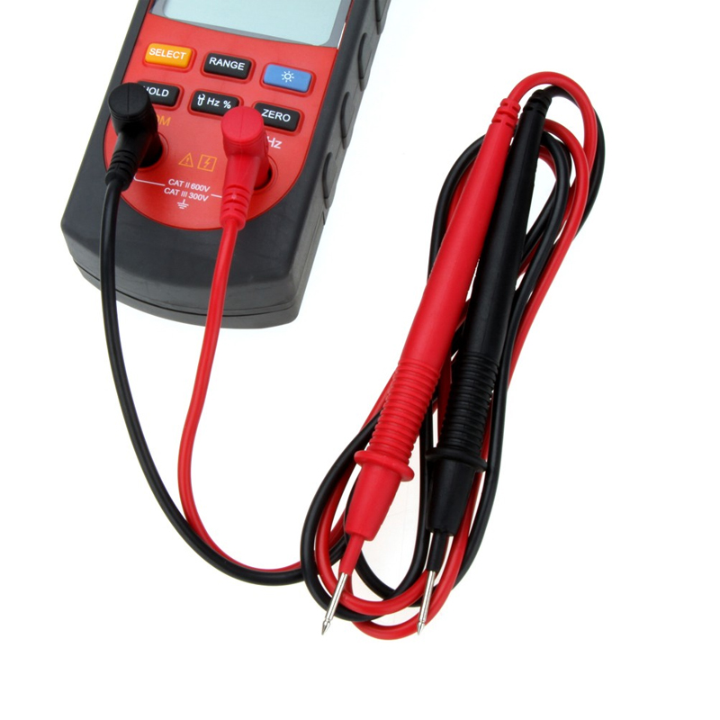UNI-T UT209A Digital Clamp Meter Multimeter Professional True-RMS LCD Multifuction Ohm DMM DC AC Voltmeter AC Ammeter