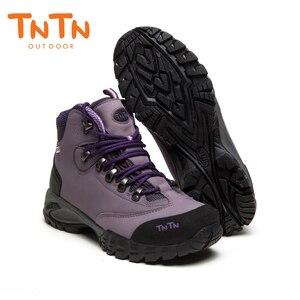 Image 3 - TNTN Botas de senderismo impermeables para hombre y mujer, zapatos de senderismo transpirables, botas de montaña