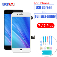 Grade AAA+++ LCD For iPhone 7 Plus 7plus OEM LCD Display Full Set Digitizer Assembly 3D Touch i Phone 6 7p Screen Replacement 3pcs lot quality aaa original lcd screen for iphone 7 plus lcd display touch digitizer oem with full assembly dhl free shipping