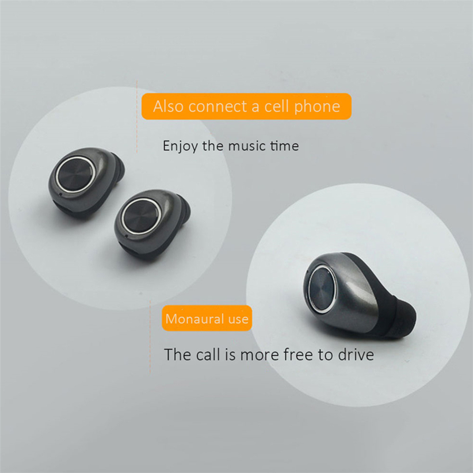 TTLIFE Wireless Mini Bluetooth Earphone TWS-11 Stereo Sport One Match Two Original Earbuds With Micro For All Smart Phone Xiaomi