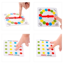 1PC Funny Finger Twister Board Game Mini Table Toy Party Favor Valentine Gift Adults Kids