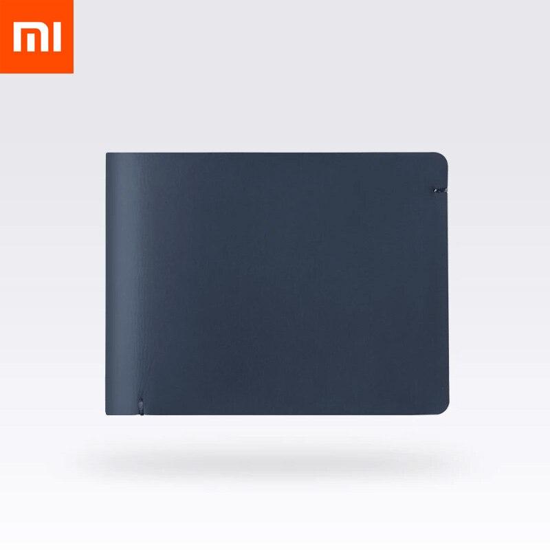Xiaomi 90 Men Wallets Anti theft Anti information Stolen Soft Leather Fashion Simple Short Purse Stylish