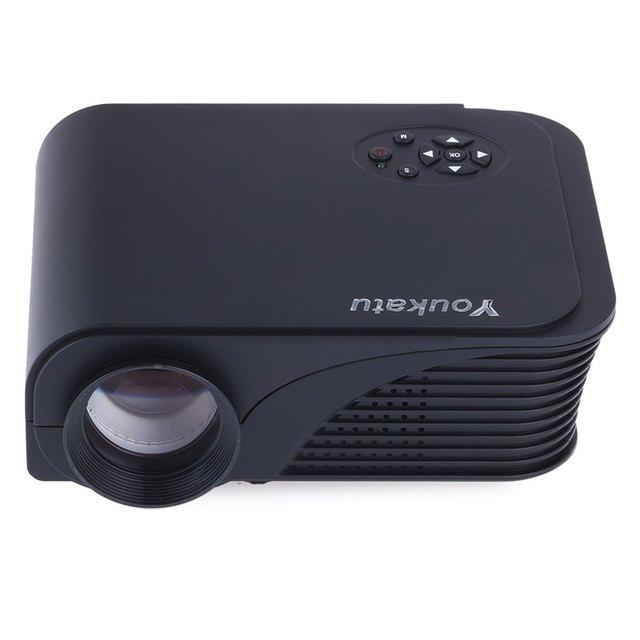 S320 1800 Lúmenes de Cine En Casa 800X600 Mini Pico Projetor Portátil Multimedia de Cine En Casa HDMI 3D HD 1080 P Proyección de video