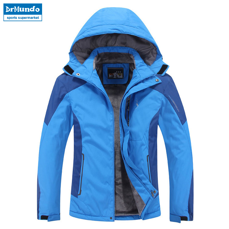 Plus Size men ski jacket men Mountain Thicken Plus fleece ski-wear waterproof hiking outdoor snowboard jacket snow jacket asgharali raneen