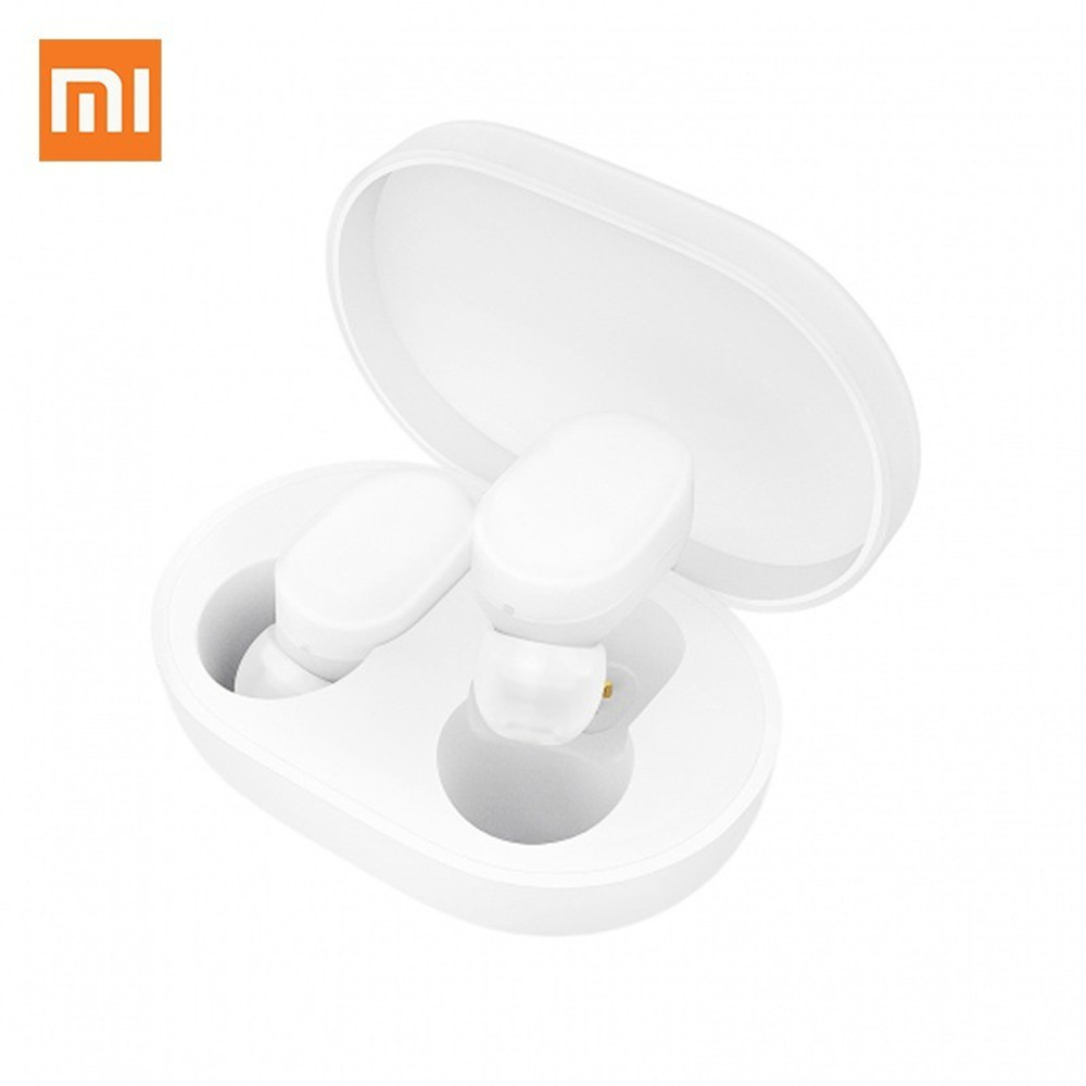 Original Xiaomi AirDots Bluetooth 5.0 Earphones Youth Edition Mi True Wireless In-ear Earbuds Bluetooth 5.0 TWS Air Dots Headset image