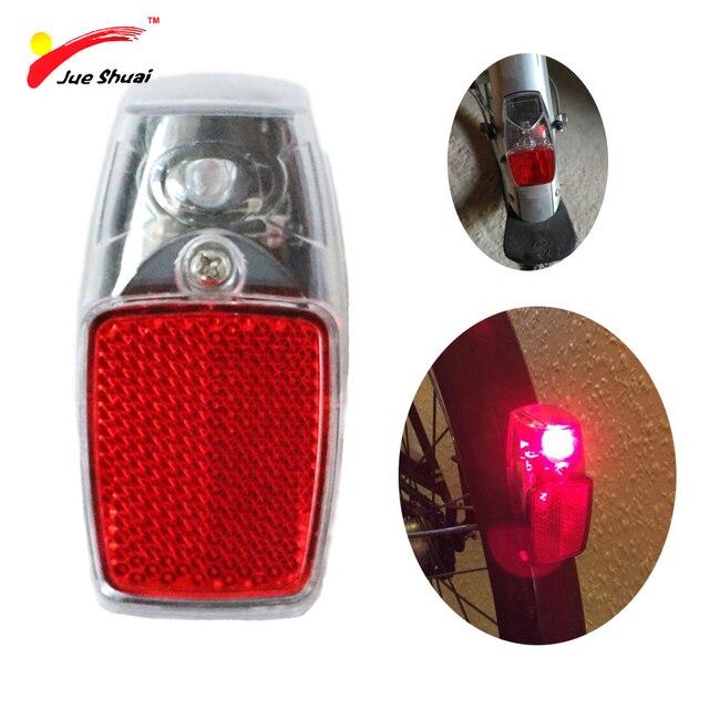 Js Leds Battery Reflector Bike Light Bicycle Light Red Reflector