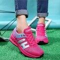 2017 Новая Мода Марка Женщины Повседневная Обувь Женские Удобные Дышащие Спорта На Открытом Воздухе Обувь Для Ходьбы Девушки Женщин Zapatillas Mujer
