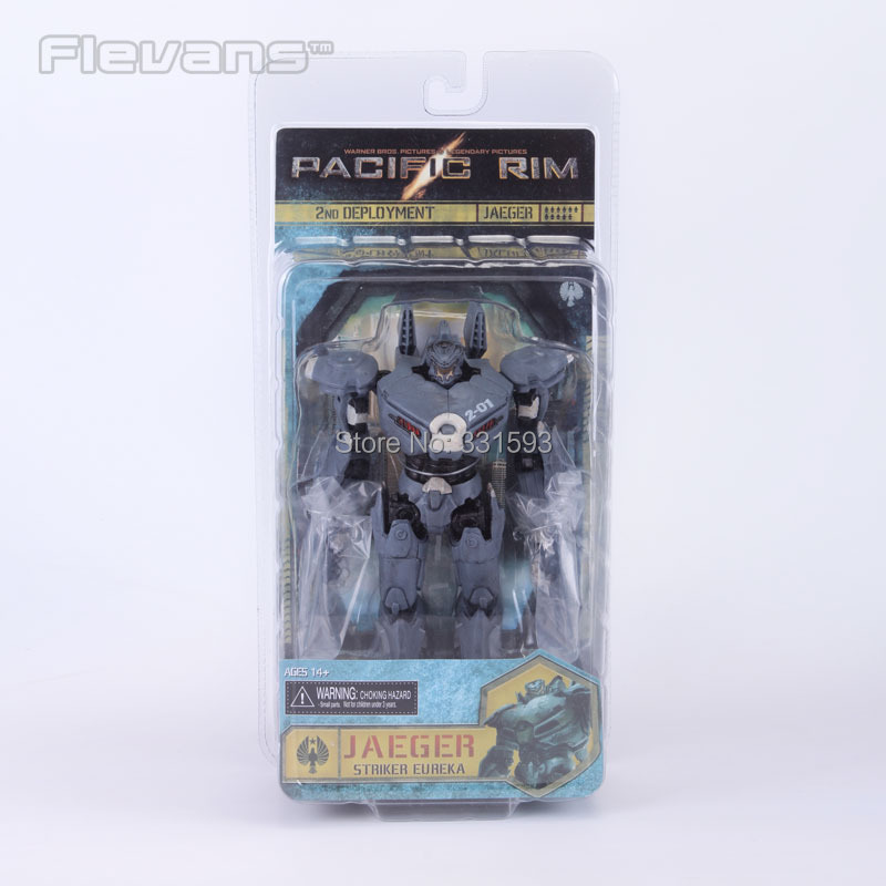 NECA Pacific Rim Jaeger Striker Eureka PVC Action Figure Collectible Model Toy 7 18CM shfiguarts batman injustice ver pvc action figure collectible model toy 16cm kt1840