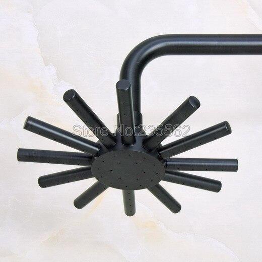 ブラックオイルこすり真鍮浴室降雨シャワーヘッドwsh201  グループ上の 家のリフォーム からの シャワーヘッド の中 1