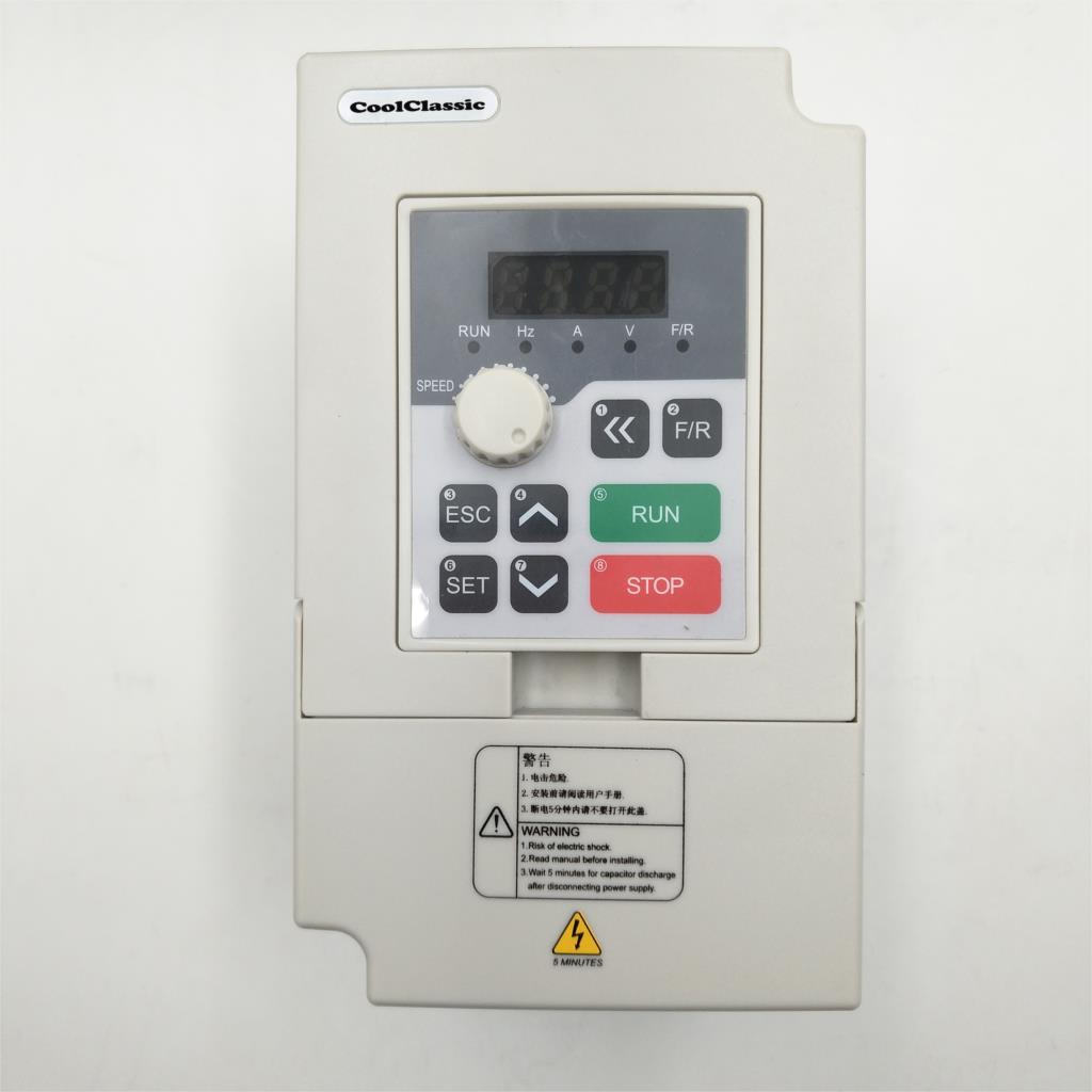 VFD Frequency Converter Vector <font><b>Inverter</b></font> <font><b>1500W</b></font> 220V CoolClassic E3 Series High Performance Vector Control <font><b>Inverter</b></font> image