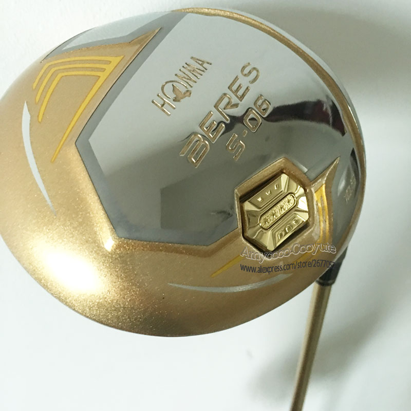 Image 2 - New Golf clubs 4 Star HONMA  S 06  Golf driver 9.5 or 10.5 loft Clubs Graphite shaft R or S Golf shaft Cooyute Free shipping-in Golf Clubs from Sports & Entertainment