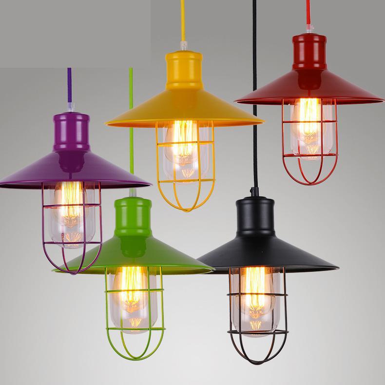 ресторан склад 1 - warehouse 1 pcs retro metal pendant lights for Bar Cafe industrial lighting Restaurant vintage Pendant Lamp Suspension Luminaire
