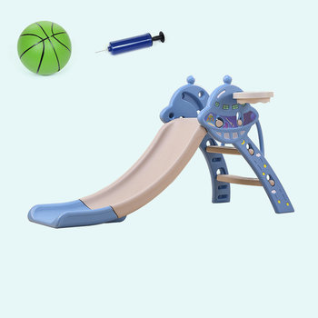 Children's Indoor Slide Baby Slide Household Folding Incorporate Thicker Small Slide Composite Plastic Toy Slide фото