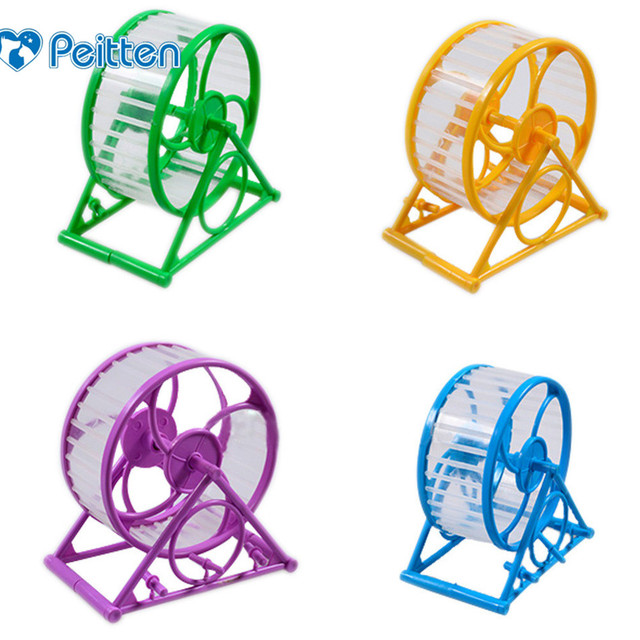 Best Selling Pet Jogging Hamster Mouse Mice Small Exercise Toy Running Spinner Sports Wheel Pets Supplies Random Color