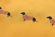 Cute Dachshund Pet Printed Women's Blouse