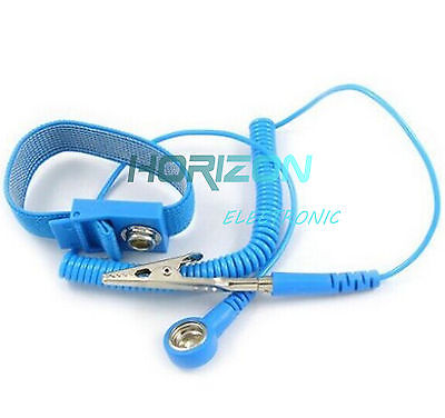 Hand & Power Tool Accessories Free Shipping 5pcs Anti Static Wirst Band Antistatic Cordless Esd Discharge Wrist Strap Grounding