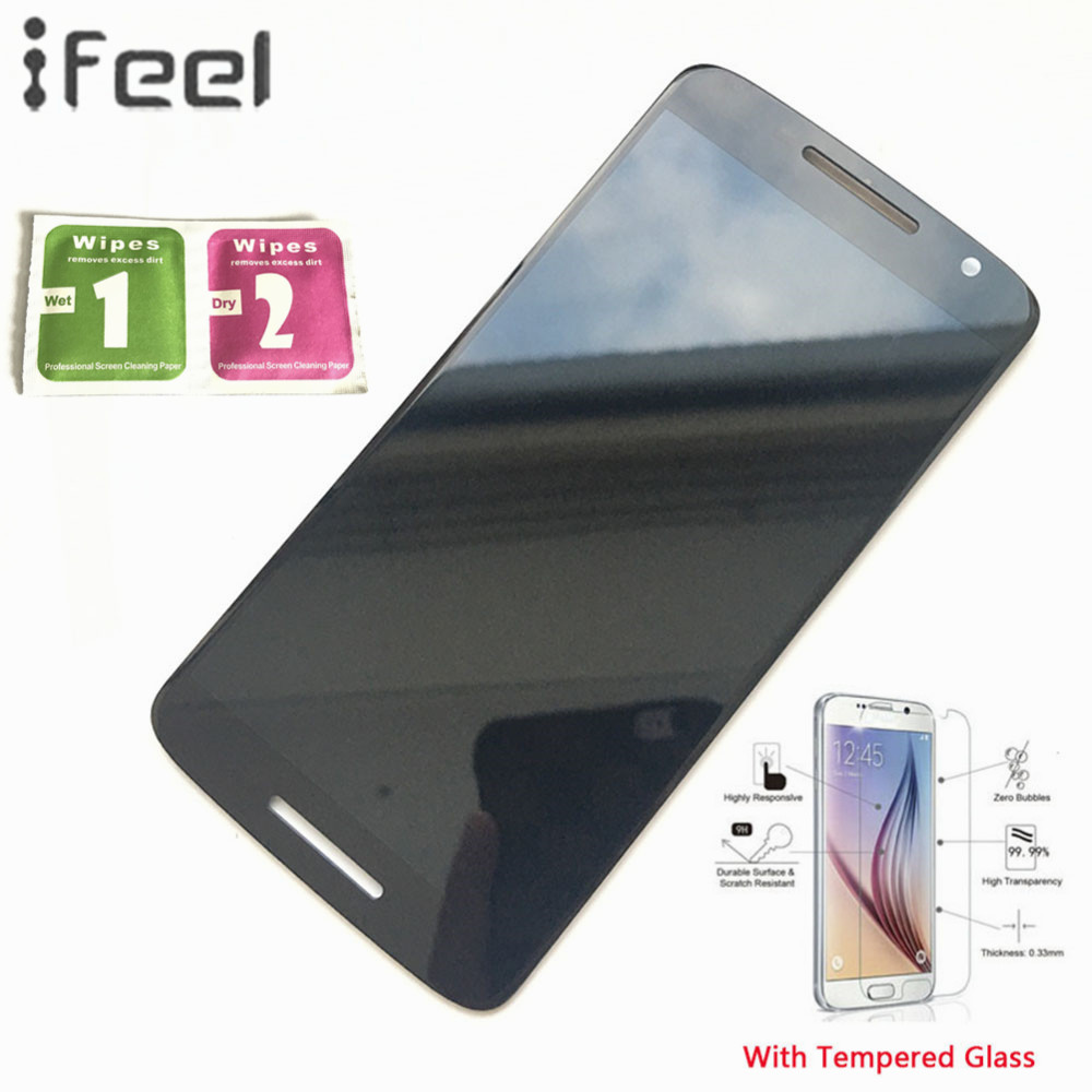 IFEEL New 100% Tested Working LCD Display Touch Screen Digitizer For Motorola Moto X Play XT1561 XT1562 XT1563 XT1565 Assembly