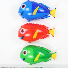 Wholesale 50pcs/lot dory fish helium Balloons Air sea animal Ballon for Kids Birthday Party Supplies Baby Shower cute globos