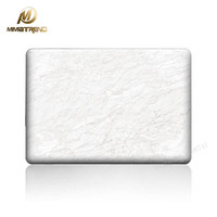 Mimiatrend 2016 NEW White Marble Grain 3D Matte Case For Apple Macbook Air Pro Retina 11
