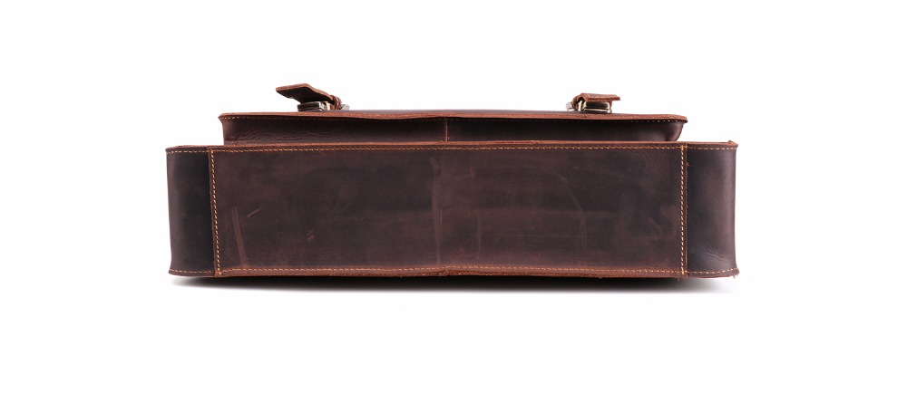 HTB1phn7mTCWBKNjSZFtq6yC3FXaC JOYIR 2019 Vintage Men's Genuine Leather Briefcase Crazy Horse Genuine Leather Messenger Male Laptop Bag Men Business Travel Bag