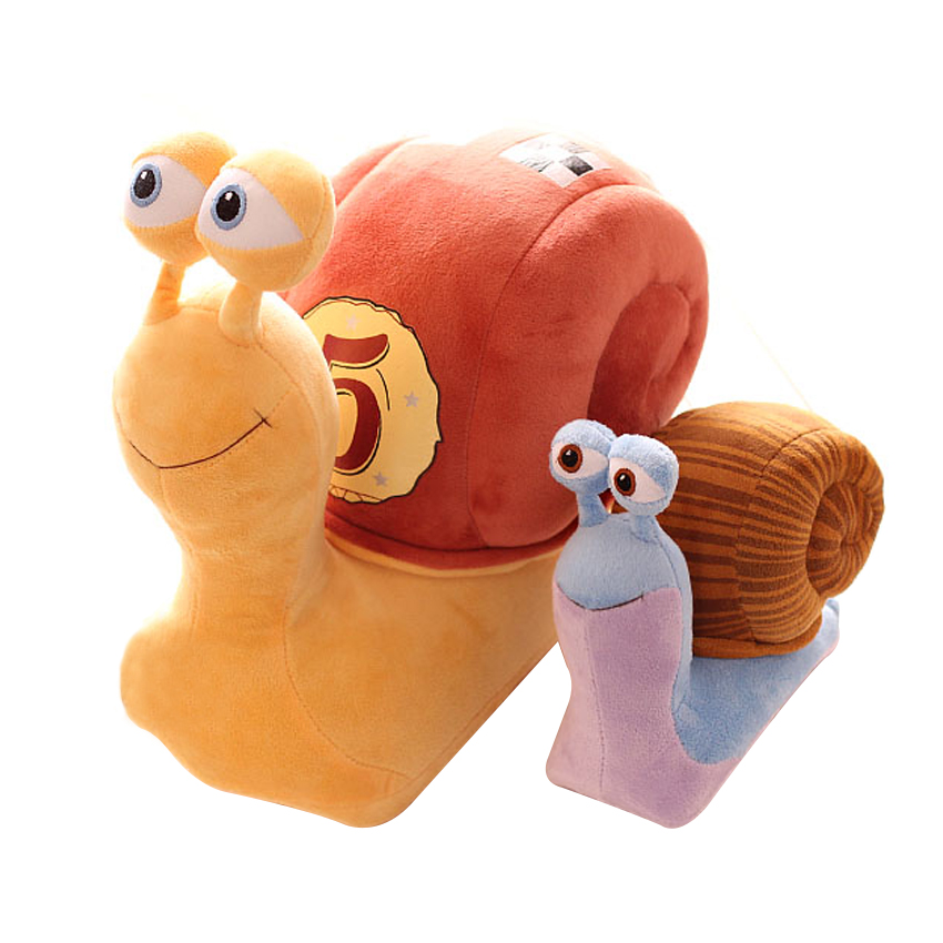 1pcs 21CM Cartoon 3D CuteTurbo Plush Toy Stuffed Animal Toys Cool Turbo speed Snail Plush Toys For Kid Birthday Gift cute cartoon dinosaurs plush toys animal plush toy toothless dragon stuffed animal dolls movie toys for kid gift toys for childr