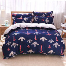 UNIHome textile,Reactive Print 4Pcs bedding sets luxury include Duvet Cover Bed sheet Pillowcase,King Queen Full Free shipping(China)